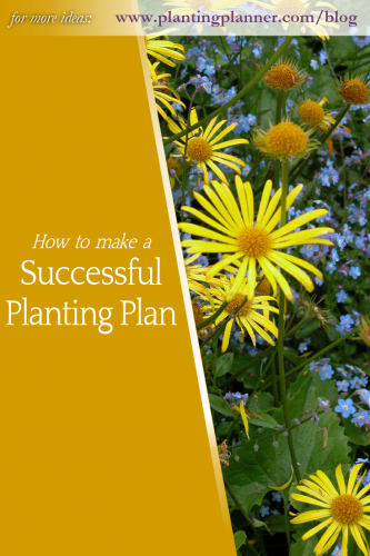 How to make a successful planting plan - from Weatherstaff garden design software