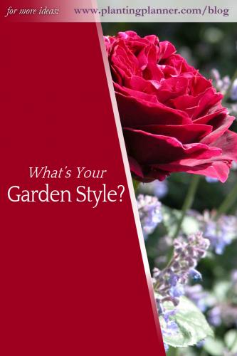 What's Your Garden Style - from Weatherstaff garden design software