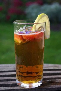 Pimms in the Garden - sit back and appreciate the gardening gift you gave last Christmas