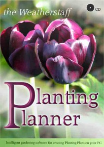 An ideal garden gift - the Weatherstaff PlantingPlanner CD