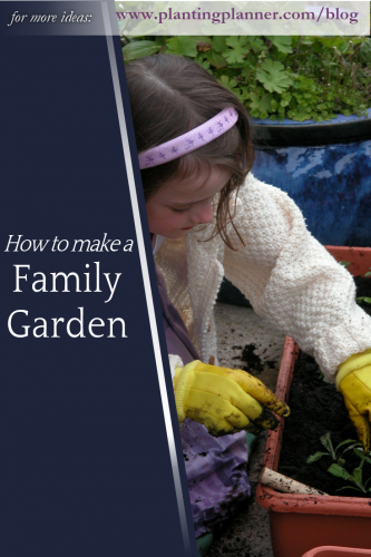 How to make a family garden - from Weatherstaff garden design software