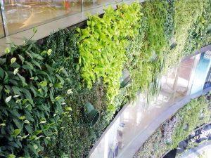 A tapestry of greens - garden design  blog