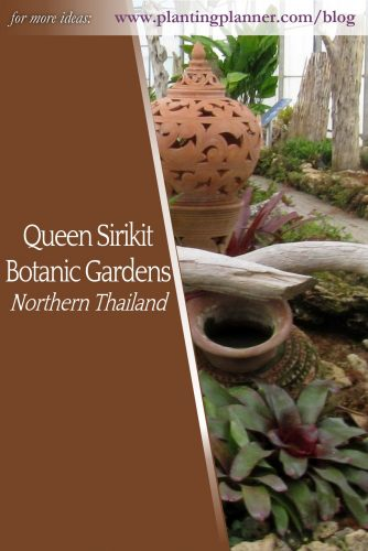 Queen Sirikit Botanic Garden - from Weatherstaff garden design software