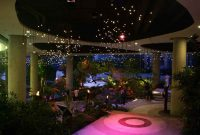 The Water Garden at night from Weatherstaff landscape design software