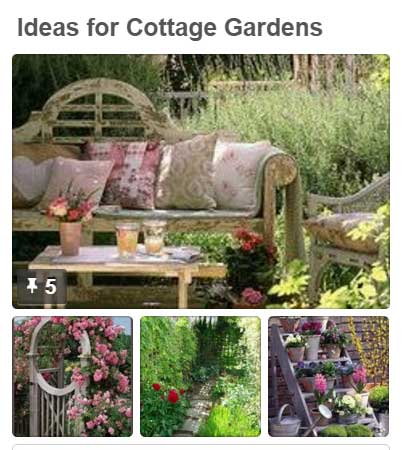 Cottage garden @ uk.pinterest.com/plantingplanner