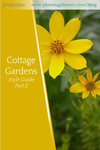 Cottage Gardens Part 2 - from Weatherstaff garden design software