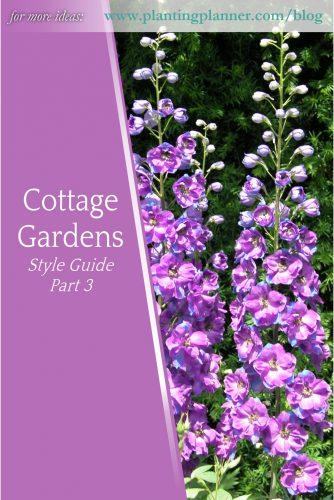 Cottage Gardens Part 3 - from Weatherstaff garden design software