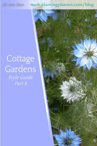 Cottage Gardens Part 4 - from Weatherstaff garden design software