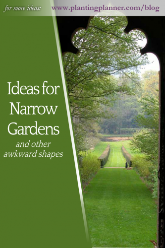 Long Narrow Gardens And Other Awkward Shapes Gardening Ideas