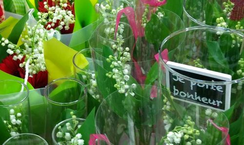 Lily of the valley, bringing luck and happiness on the Fête du Muguet from the Weatherstaff blog