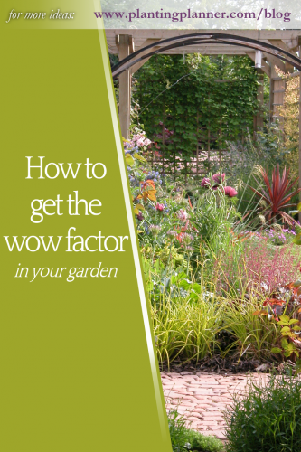 How to get the wow factor in your garden from Weatherstaff PlantingPlanner landscaping software