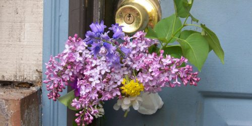 May Day baskets or posies from the Weatherstaff  garden design software blog