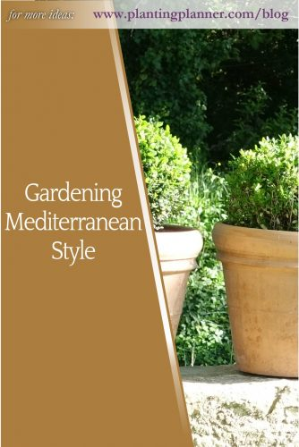 Gardening Mediterranean Style - from Weatherstaff garden design software