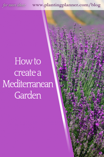How to create a Mediterranean Garden from Weatherstaff garden design software