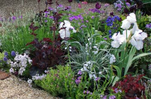 Mulching with gravel - Mediterranean garden beds from Weatherstaff landscaping design software