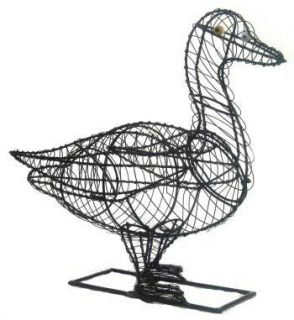 Make your own topiary duck!