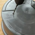 Drill drainage holes - container gardening guide from Weatherstaff PlantingPlanner blog