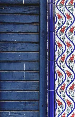 Iznik tiles with tulip motif - Weatherstaff PlantingPlanner blog
