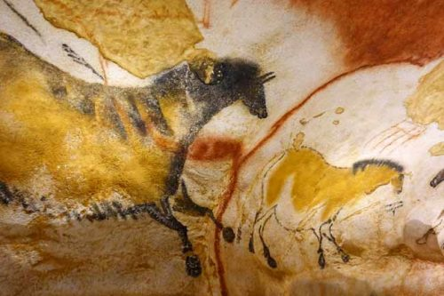 Lascaux cave painting from the Weatherstaff blog