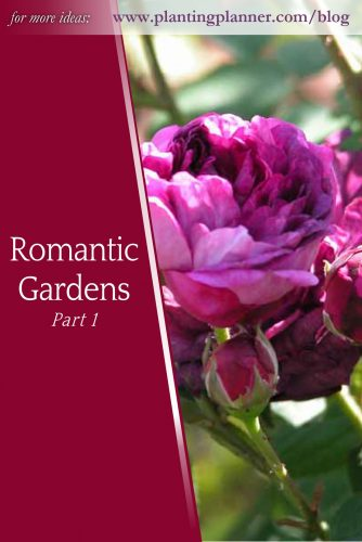 Romantic Gardens Part 1 - from Weatherstaff garden design software